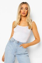 Boohoo Ellie Wide Strap Basic Vest