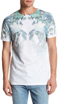 Topman Short Sleeve Faded Roses Tee
