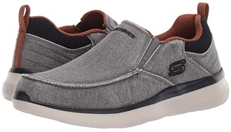 Skechers Deslon 2.0 - Larwin (Grey) Men's Shoes