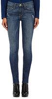 Frame Women's Le Skinny De Jeanne Jeans-BLUE