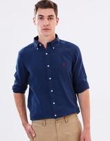 Polo Ralph Lauren Long Sleeved Slim Linen Shirt