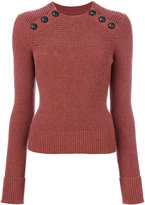Etoile Isabel Marant Koyle pullover - women - Cotton/Wool - 36