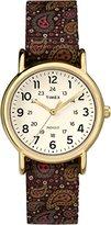 Timex Women's TW2P802009J Weekender Collection Analog Display Quartz Two Tone Watch
