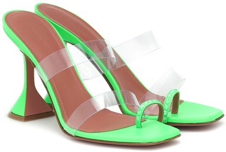 Amina Muaddi Sami embellished PVC sandals