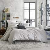Kenneth Cole Reaction Home Elements Reversible Twin Duvet Cover in Grey Mist