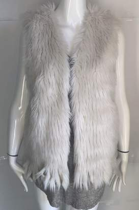 Thml Clothing Sleeveless Faux-Fur Vest