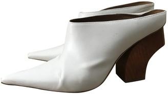 REJINA PYO White Leather Sandals