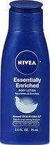 Nivea Essentially Enriched Body Lotion 2.5 Fluid Ounce (Pack of 6)