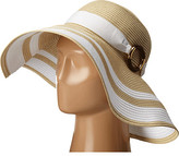 Lauren Ralph Lauren Paper Straw Bright & Natural Sun Hat