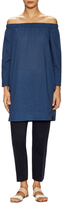 Lafayette 148 New York Cotton Off The Shoulder Tunic