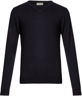 ÉDITIONS M.R V-neck merino-wool sweater