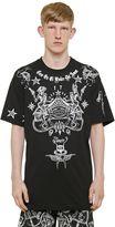 Givenchy Cuban Tattoo Print Cotton Jersey T-Shirt