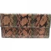Fendi Brown Exotic leathers Purse