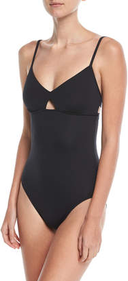 Seafolly Active Keyhole Maillot One-Piece Swimsuit