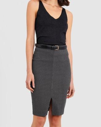Forcast Jaliyah Pencil Skirt