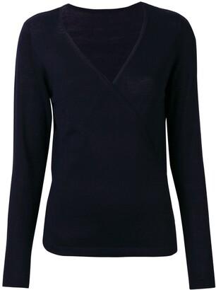 Sottomettimi V-neck wrap sweater