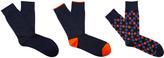 Oxford Storm 3pk Socks Blu/Multi X