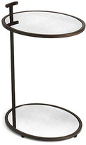 One Kings Lane Fairlawn Side Table - Antiqued Bronze - frame, antiqued bronze; glass, mirrored
