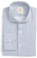 Men's Strong Suit Trim Fit Dot Dress Shirt