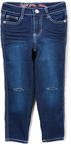U.S. Polo Assn. Medium Blue Wash Ripped-Knee Jeans - Toddler & Girls