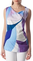Pietro Brunelli Women's 'Fialka' Graphic Maternity Top