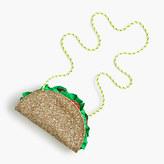 J.Crew Girls' glitter taco bag