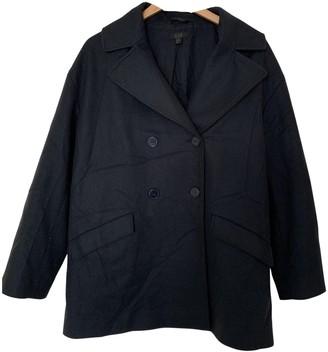 Cos Navy Wool Coat for Women