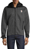 Moncler Quilted Wrist Strap Hoodie