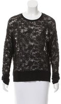 Raquel Allegra Lace Long Sleeve Top