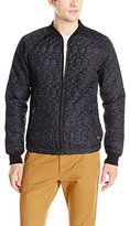Scotch & Soda Men's Lightweight Quilted Bomber Jacket