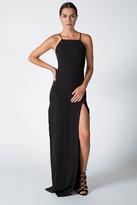 Donna Mizani Square Neck Gown