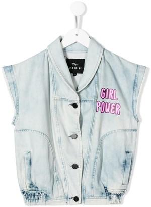 Andorine Girl Power denim vest