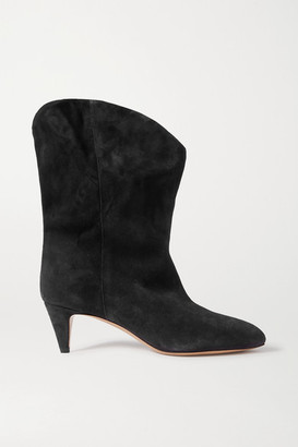 Isabel Marant Dernee Suede Ankle Boots