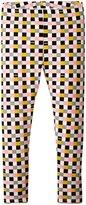Fendi Checker Print Leggings (Toddler/Kid) - Multi - 2T