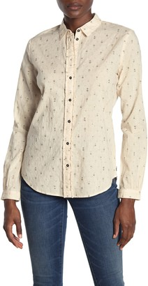 Scotch & Soda Cotton Dobby Shirt