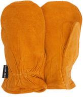 Asstd National Brand QuietWear Insulated Split Leather Mittens
