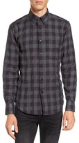 Naked & Famous Denim Men's Herringbone Plaid Sport Shirt