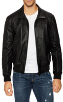 Prada Leather Bomber Jacket