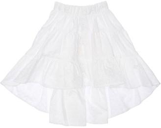 MonnaLisa Cotton Eyelet Lace Skirt