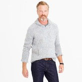 J.Crew Shawl-collar sweater in Donegal wool