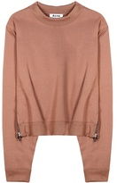Acne Studios Bird Cotton-blend Sweatshirt