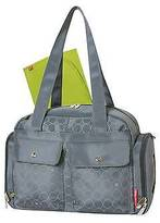 Fisher-Price Diaper Bag Grey Circles