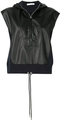 Cédric Charlier Half-Zip Hooded Sweatshirt