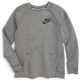 Nike Sportswear Tech Fleece Sweatshirt (Little Boys & Big Boys)