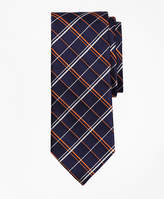 Brooks Brothers Double Alternating Windowpane Tie