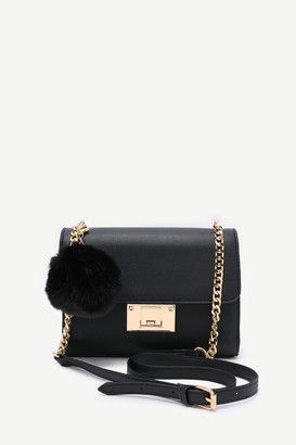 Ardene Flap Closure Crossbody Bag