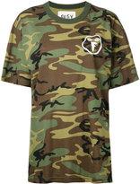 G.V.G.V.Flat camouflage print T-shirt