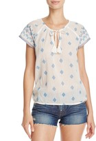 Soft Joie Dolan B Print Top