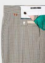 Paul Smith Women's Slim-Fit Cream Check Stretch-Cotton Pants