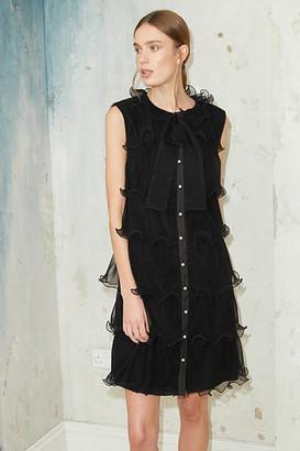 Jovonna London Tambores Black Dress - S | black - Black/Black